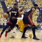 Indiana Pacers 83 – Miami Heat 87. Más poderosa es la necesidad.