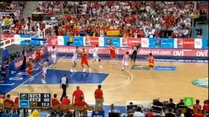 Jugada final. España vs Turquía de 2009