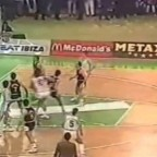Petrovic vs Schmidt (Real Madrid 117 – Snaidero Caserta 113)