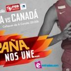 España 82 – 70 Canadá. Comenzó la preparación para el Mundial.