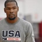 Otra víctima de la lesión de Paul George: Kevin Durant renuncia al Mundial.