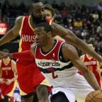 Wall y Harden, jugadores de la semana en la NBA