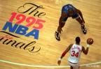 NBA Finals 1995, cuarto partido. Olajuwon vs O'neal (íntegro)