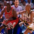 El triple-doble en 21 minutos de Michael Jordan