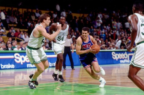 New Jersey Nets v Boston Celtics