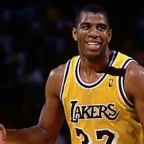 9 de enero de 1990. 24 puntos y 24 asistencias de Magic Johnson