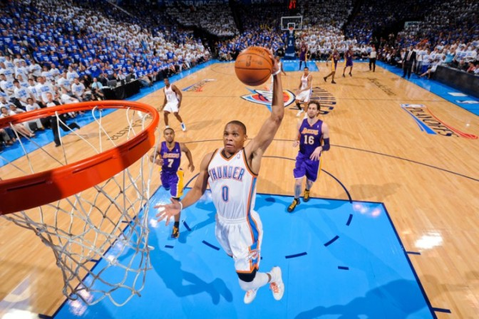 Los Angeles Lakers v Oklahoma City Thunder - Game Two