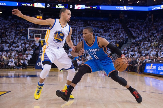 USP NBA: OKLAHOMA CITY THUNDER AT GOLDEN STATE WAR S BKN USA CA