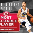 Steph Curry, MVP de la temporada