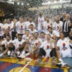 Pablo Laso entra en la historia del Real Madrid