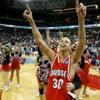 NCAA Division I Tournament 2008; Davidson vs Wisconsinn. Steph Curry en la universidad