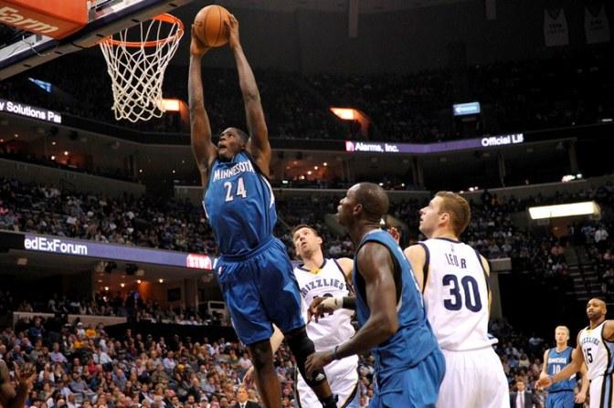 APTOPIX Timberwolves Grizzlies Basketball