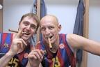 Jaka Lakovic y Lubos Barton son los nuevos canteranos del Barça