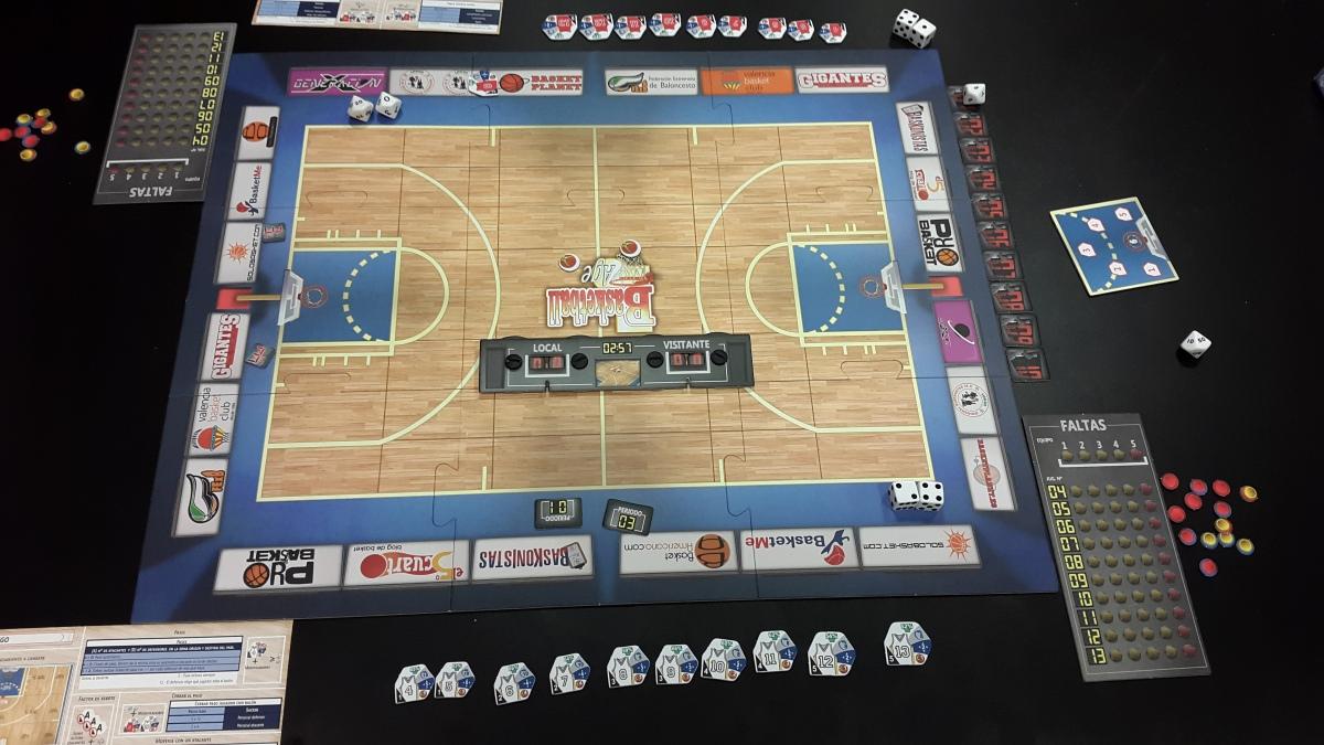 Basketball Age. Un juego de mesa sobre baloncesto